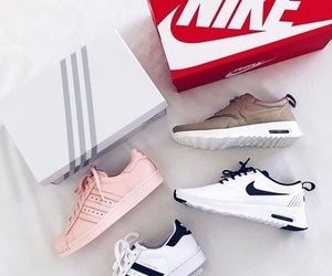 nike, shoes, and adidas image
