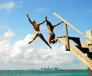 adventure, summer, and bikini image