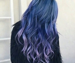 galaxy, girl, and hairstyle image