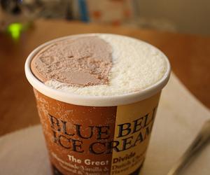 ice cream, food, and yum image