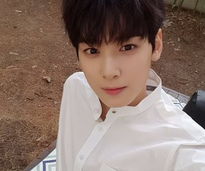 astro, eunwoo, and kpop image