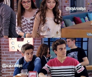 soy luna, lutteo, and gastina image