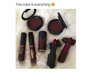 goals, lipstick, and red image