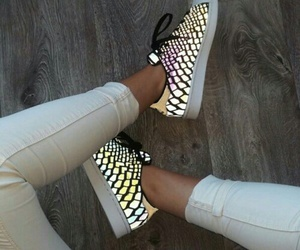 shoes, girl, and adidas image