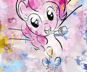 my little pony, flutter shy, and party image