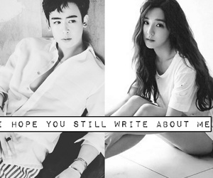 tiffany, nickhun, and khunfany image