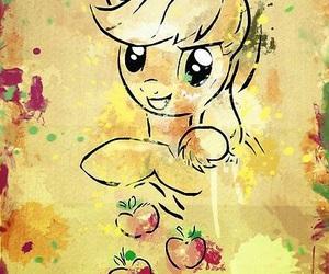 apple, apple jack, and rarity image