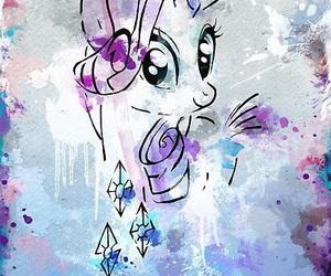 diamond, my little pony, and purple image