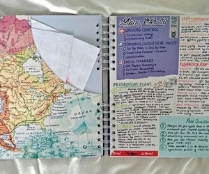 journal and world image