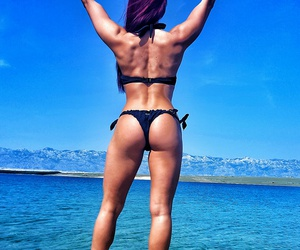 booty, fitness, and summer image