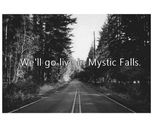 tvd, mystic falls, and the vampire diaries image