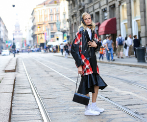 fashion week, Hanne Gaby Odiele, and milan image