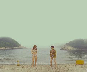 moonrise kingdom, beach, and dance image