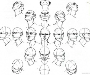 draw, head, and art image