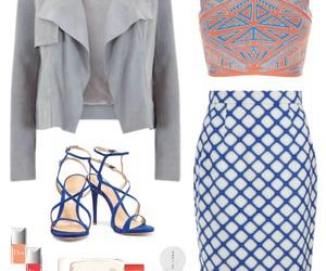 blue, dior, and fashion image