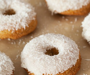 donuts, sweet, and candy image