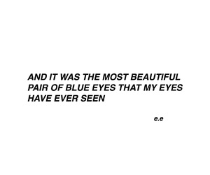 blue eyes, quote, and love image