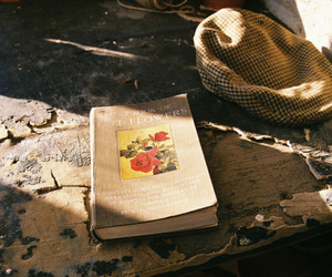 book, vintage, and tumblr image
