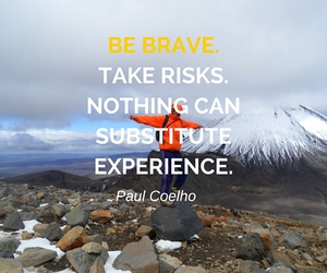 brave, coelho, and experience image