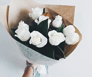 flowers, white, and cute image