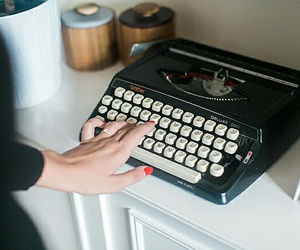 analog, hands, and vintage image