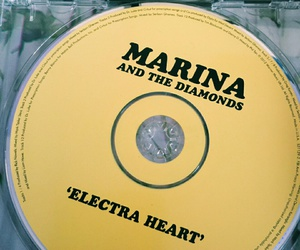 artsy, yellow, and marina and the diamonds image