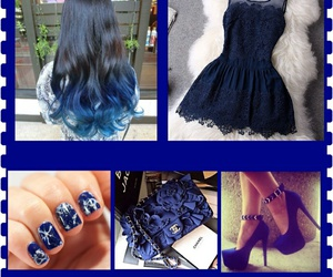 blue, dress, and inspiration image