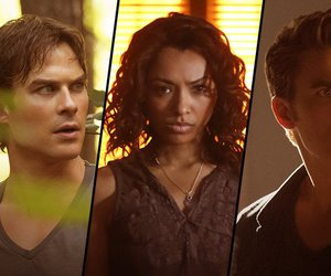 Bonnie, caroline, and damon image