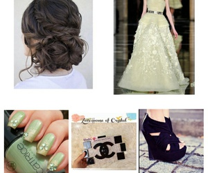 clutch, dress, and inspiration image
