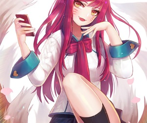 league of legends, lol, and ahri image