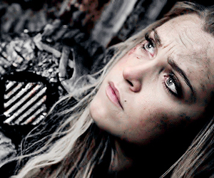the 100, eliza taylor, and clarke griffin image