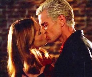 kiss, spike, and buffy the vampire slayer image