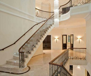 interior design, luxury, and staircase image