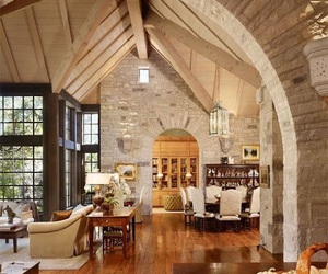 architecture, glass, and interior image