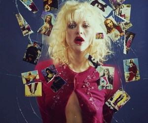 Courtney Love, hole, and jesus image