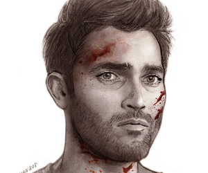 teen wolf, derek hale, and tyler hoechlin image
