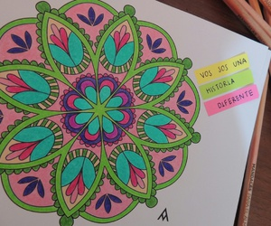 amor, frases, and colores image