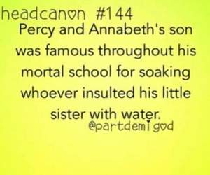 family, percy, and mortal image