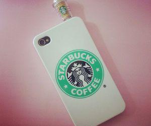 starbucks and iphone image