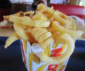 food, fries, and photography image
