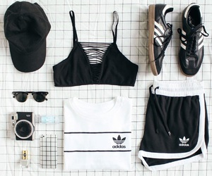 adidas originals, urban outfitters, and outfit image