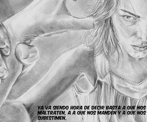 frases, mujeres, and maltrato image