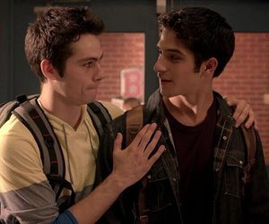 teen wolf, tyler posey, and stiles stilinski image