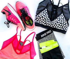 fitness, nike, and healthy image