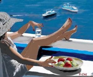boat, flower, and FRUiTS image