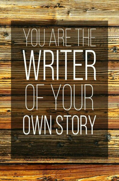quote, story, and writer image