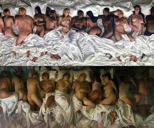 art, Nude, and famous image