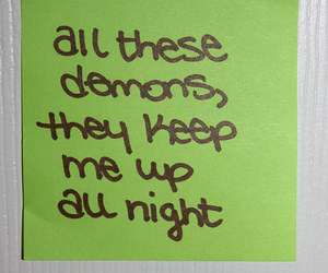 blink-182, demons, and insomnia image