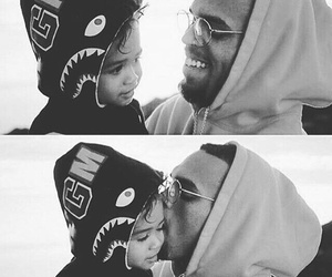 chris brown and cute image