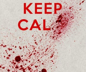blood, calm, and red image